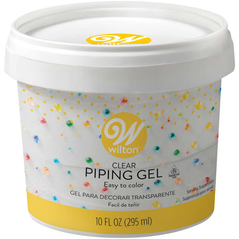 Clear Piping Gel for Cake Decorating, 10 oz. image number 0