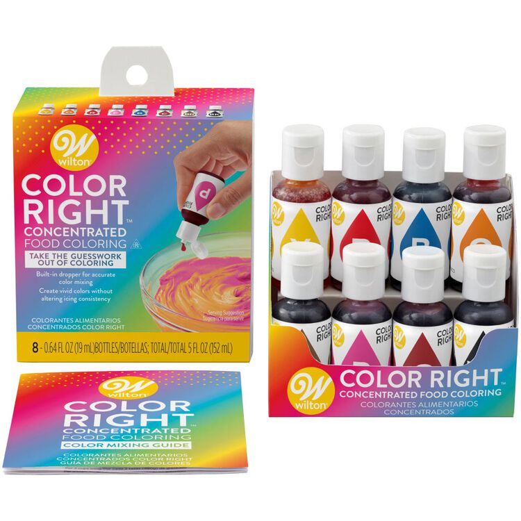 Color Right Performance Food Coloring Set