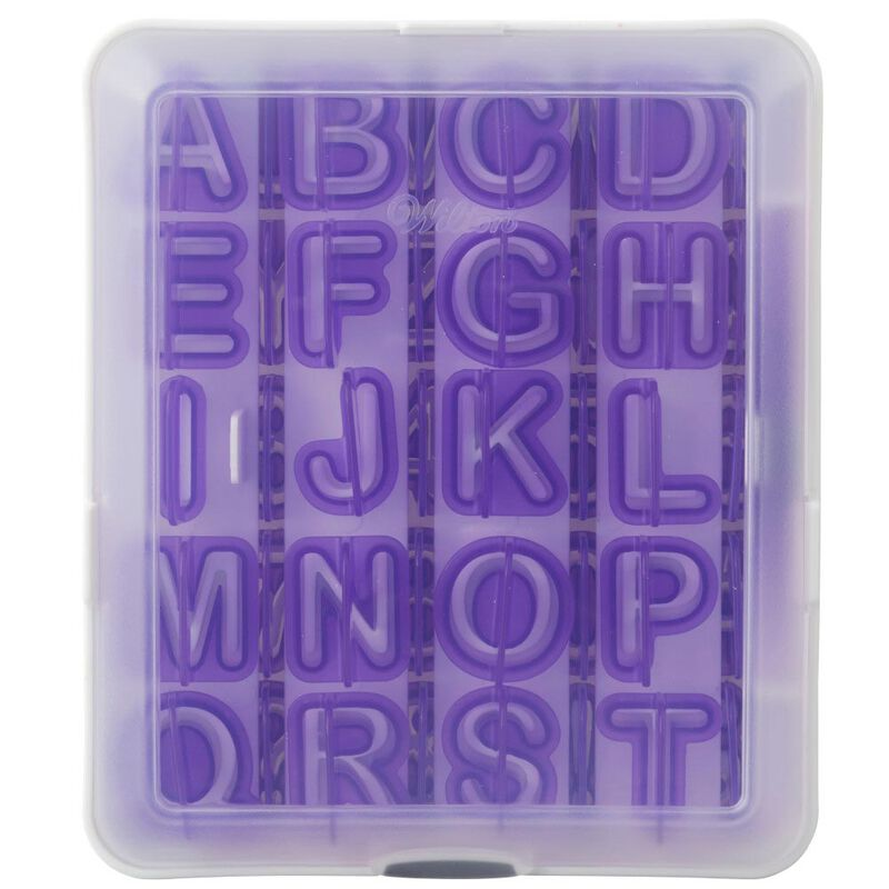 Letter and Number Fondant Cutters Set, 40-Piece image number 2