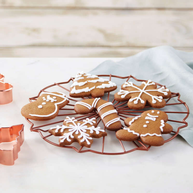 Copper Cookie Cutter Set, 16-Piece image number 5
