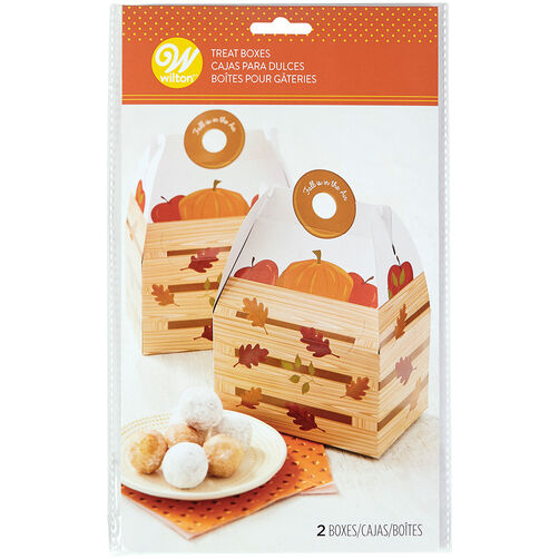 Fall Is In The Air Treat Boxes, 2-Count