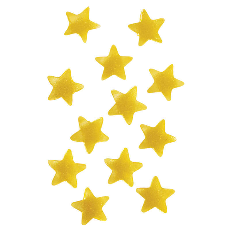 Edible Glitter Gold Stars, 0.4 oz. image number 4