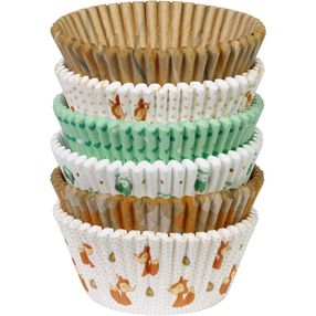 Woodland Animals Cupcake Liners