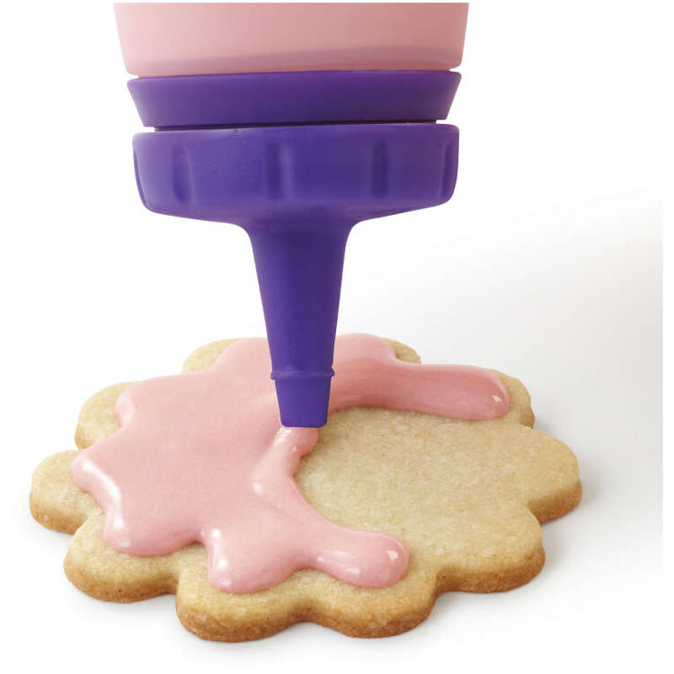 Silicone Candy Squeeze Bottle in Use