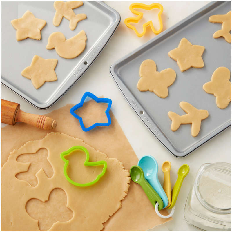 Recipe Right Non-Stick Cookie Sheet Set, 3-Piece image number 4