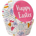 Happy Easter Cupcake Liners, 75-Count