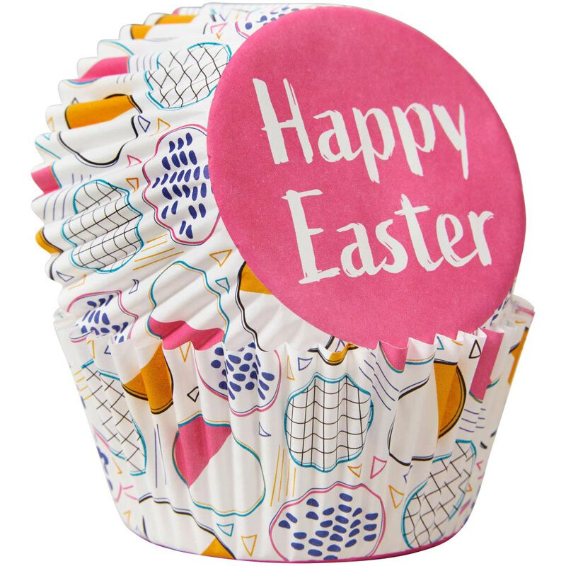 Happy Easter Cupcake Liners, 75-Count image number 2