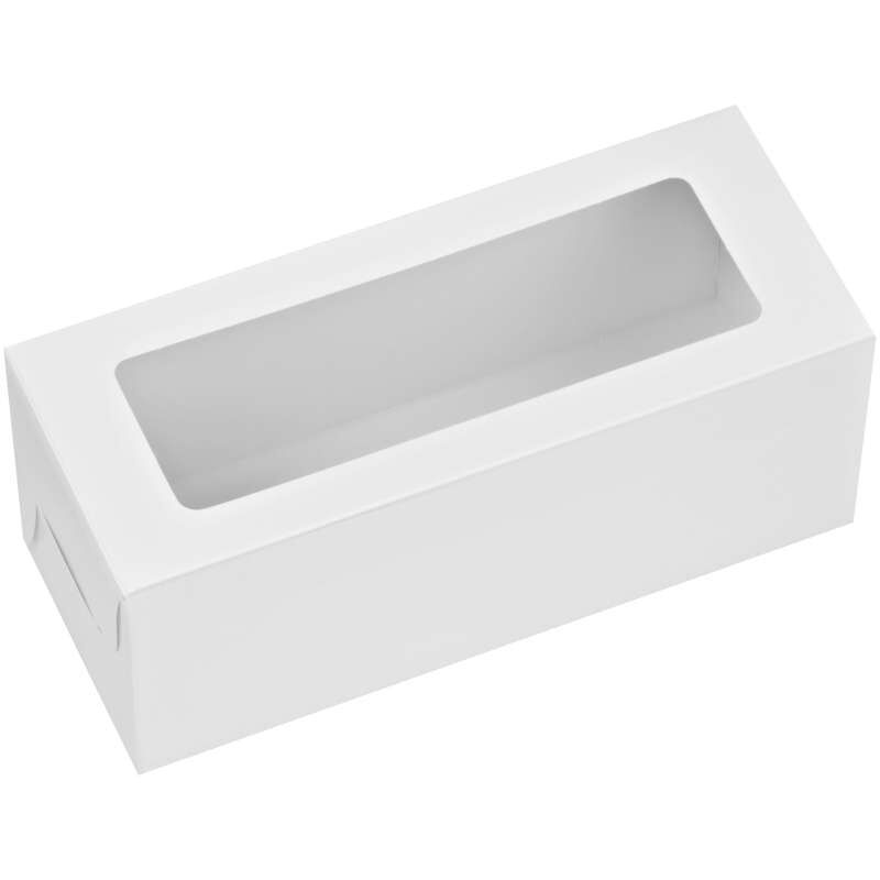 White Rectangle Treat Boxes, 3-Count image number 1