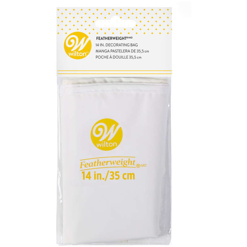 Featherweight Decorating Bag - Reusable 14-Inch Piping Bag image number 1