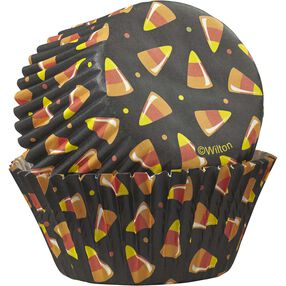 Candy Corn Cupcake Liners, 75-Count