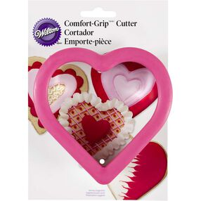 Heart Shaped Cookie Cutter with Comfort Grip