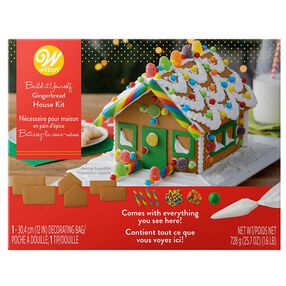Build-it-Yourself Gingerbread House Decorating Kit