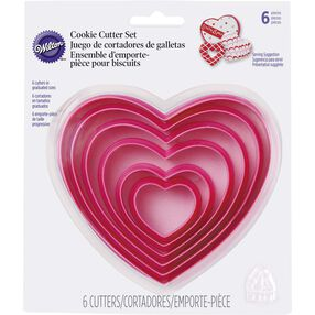 Nesting Hearts Cookie Cutters