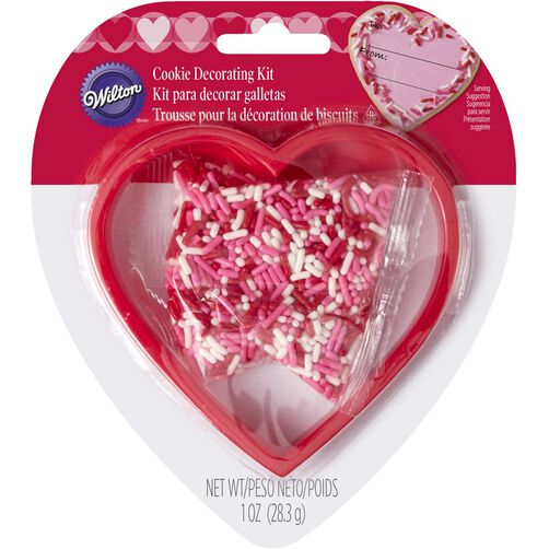Heart Cookie Cutter & Sprinkles