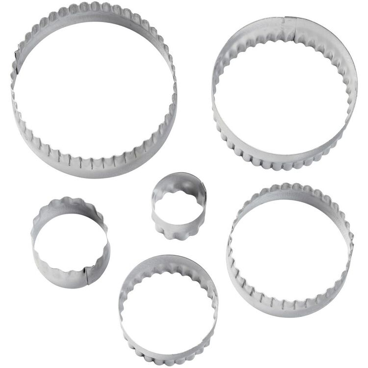 Double-Sided Round Cut-Outs Set, 6-Piece