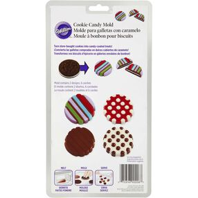 Dot & Stripes Cookie Candy Mold