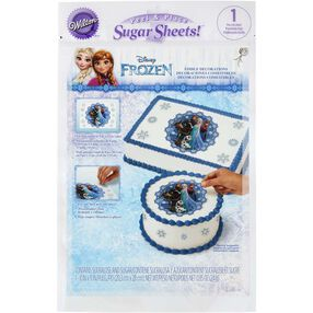 Disney Frozen Edible Images Cake Decorating Kit