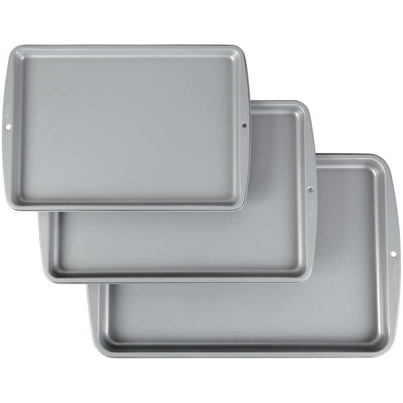 Recipe Right Non-Stick Cookie Sheet Set, 3-Piece image number 0
