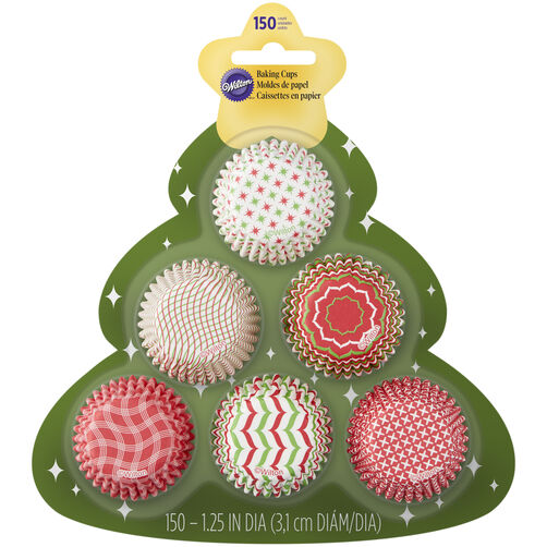Assorted Mini Baking Cups Tree