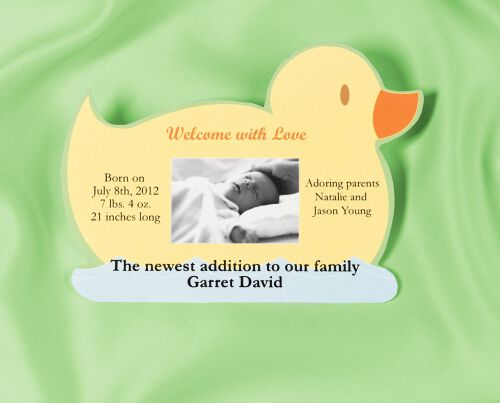 graphic about Printable Magnets known as Printable Magnet Announcement - Duck Wilton
