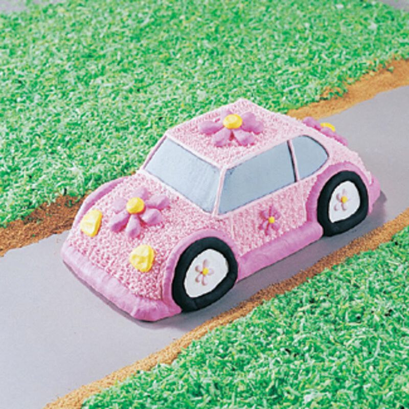 Car Cake Pan, Kids 3D Birthday Cake Pan image number 4