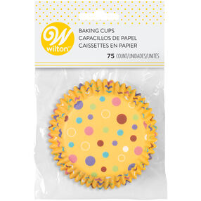 Sweet Dots Cupcake Liners