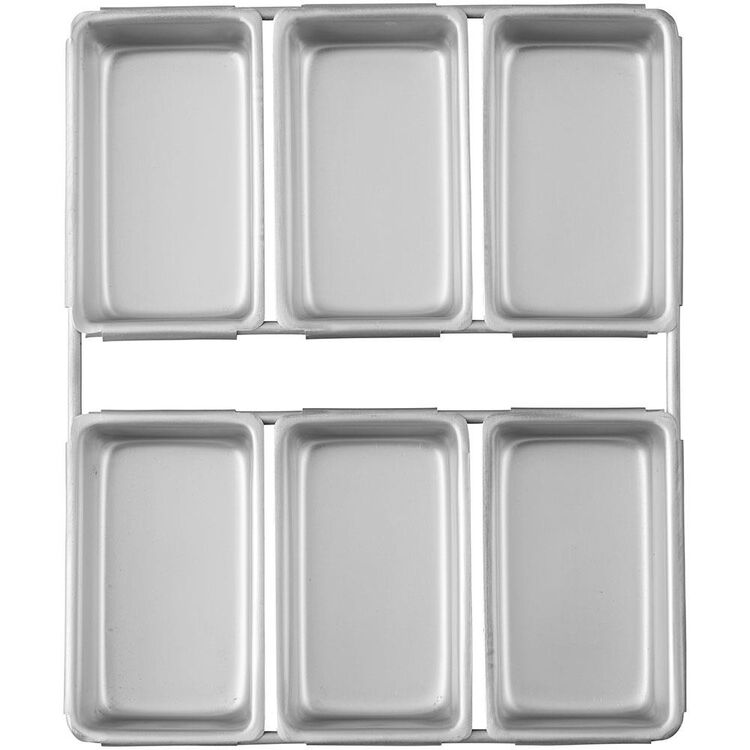 Mini Loaf Pan, 6-Cavity