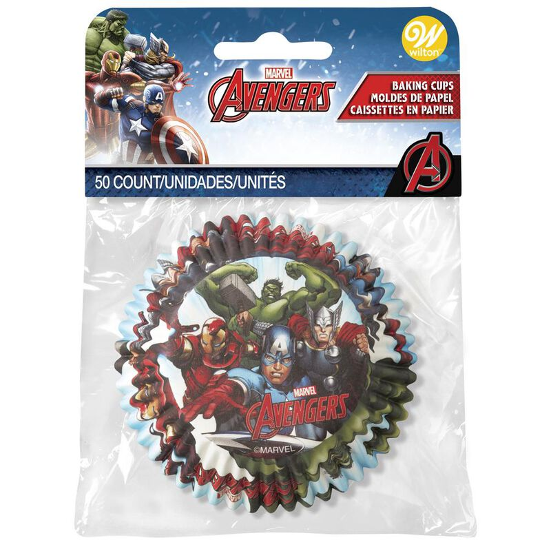 Wilton Avengers Cupcake Liners image number 0