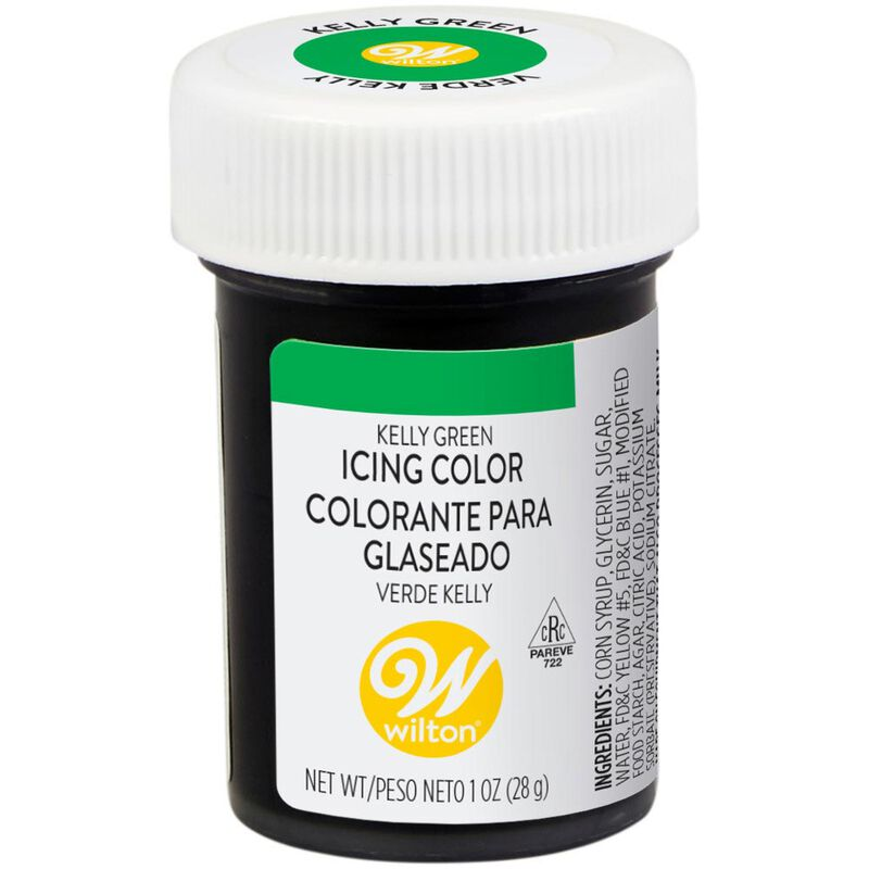Kelly Green Gel Food Coloring Icing Color image number 0