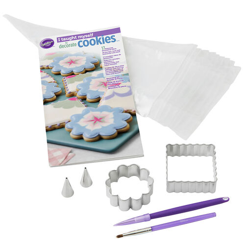 """""""I Taught Myself To Decorate Cookies"""" Cookie Decorating Book Set"""