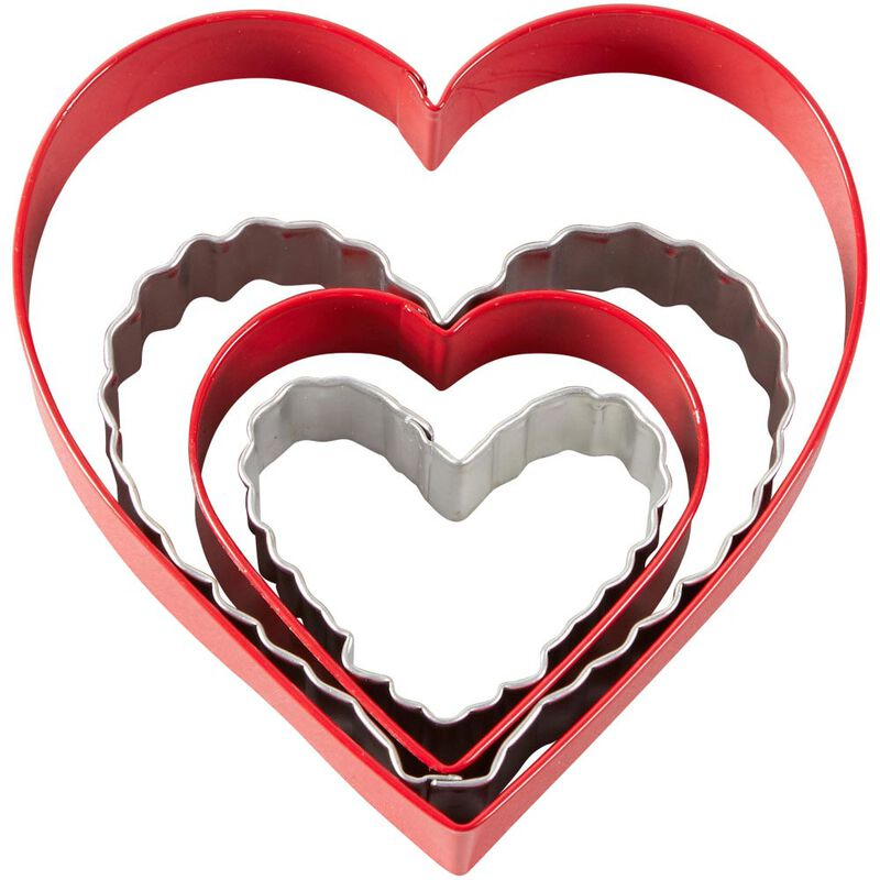 Nesting Hearts Cookie Cutter Set, 4-Piece image number 0
