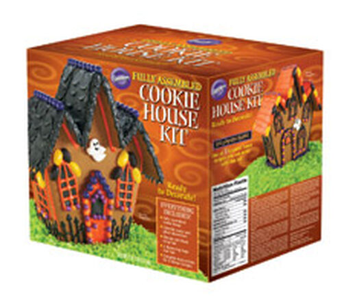 Pre-Baked and Pre-Assembled Halloween Cookie House Kit