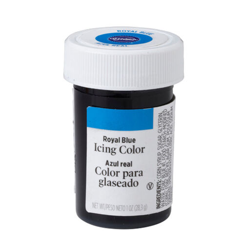 Royal Blue Icing Color, 1 oz. - Blue Food Coloring