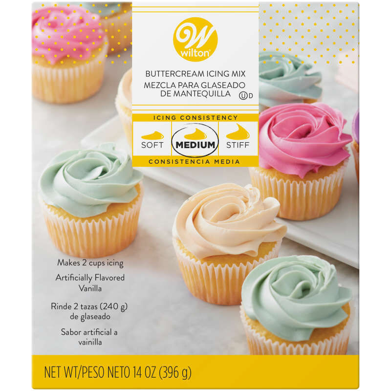 Buttercream Icing Mix 14 Oz Wilton