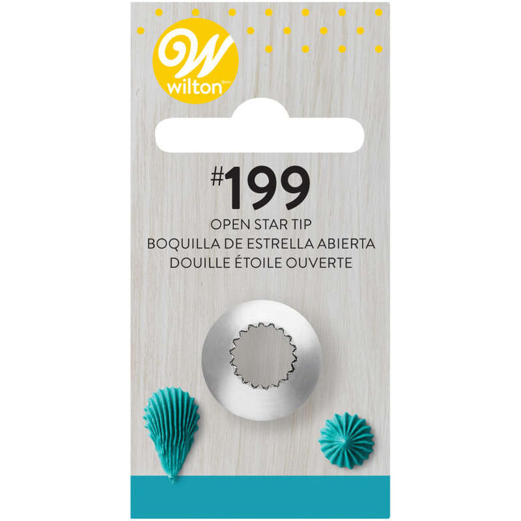 Open Star Cake Decorating Tip 199