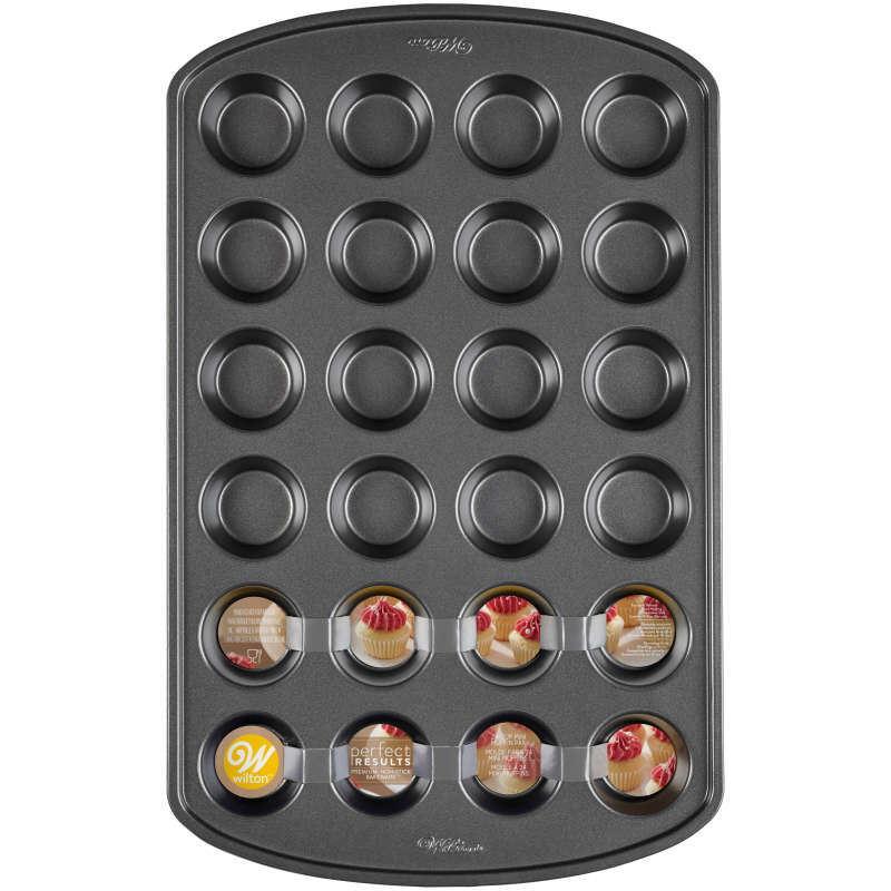 Perfect Results Non-Stick Mini Muffin Pan, 24-Cup image number 1