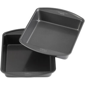 Perfect Results Square Non-Stick Cake Pan Multipack, 8 x 8-Inch (2-Pack)