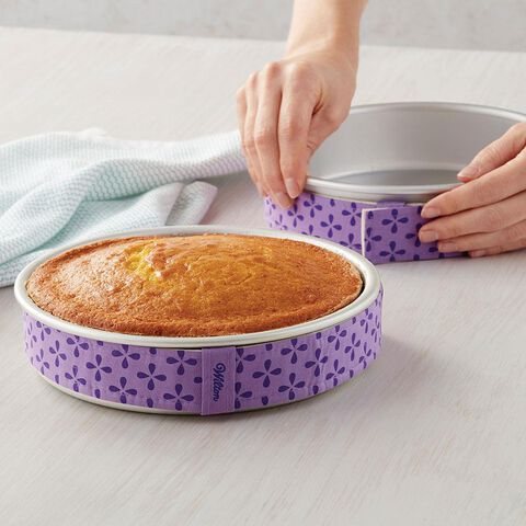 How to Use Bake Even Cake Strips