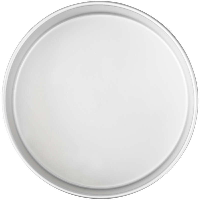 Decorator Preferred 8 x 3-inch Round Aluminum Cake Pan image number 0