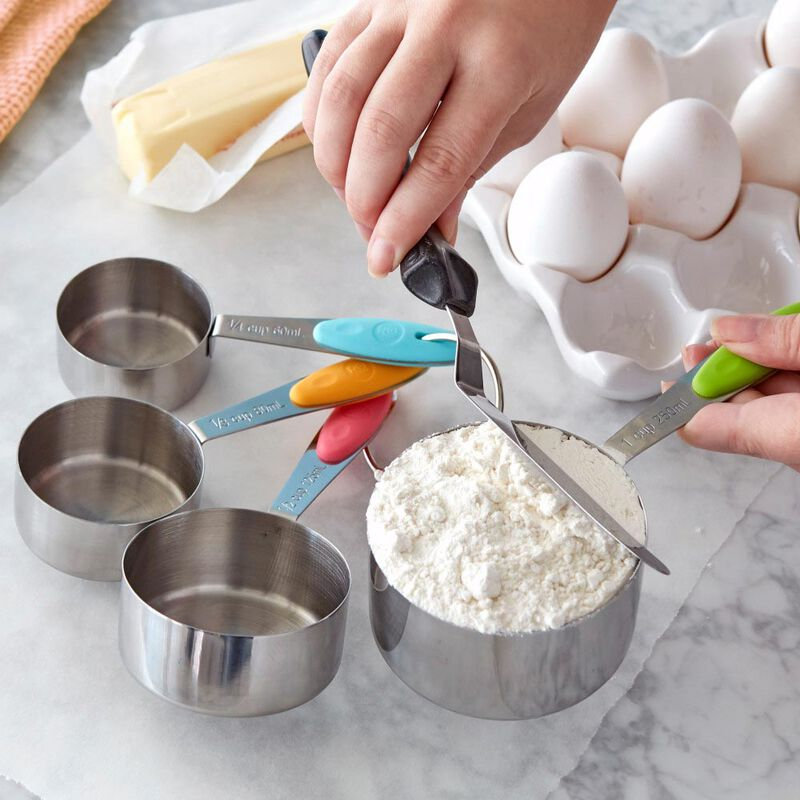 ROSANNA PANSINO by Measuring Cups, 4-Piece Measuring Cup Set image number 4