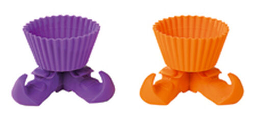 Wacky Witch Silly-Feet! Silicone Baking Cups