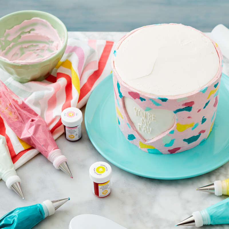 Cake Decorating Tip Set for Writing, 4-Piece (Tips 3, 55, 13, 44) image number 4