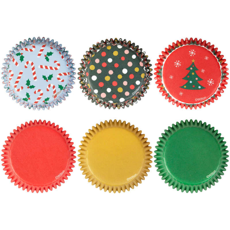 Holiday Cupcake Liners, 150-Count image number 2