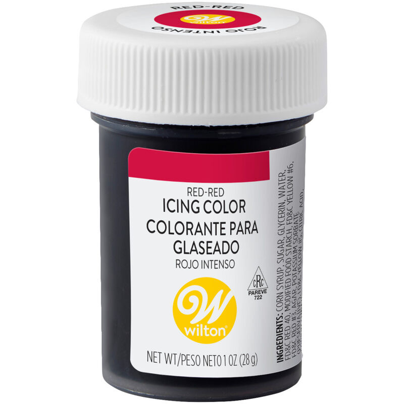 Red Red Gel Food Coloring Icing Color image number 0