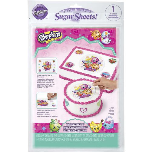 Shopkins Sugar Sheets