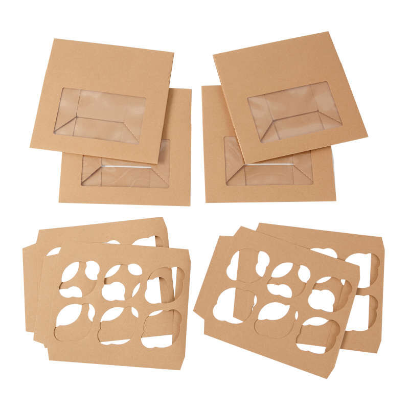 Kraft Cupcake Boxes Out of Packaging image number 2