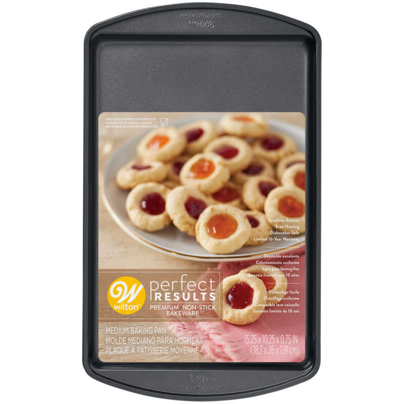 Perfect Results Premium Non-Stick Bakeware Cookie Sheet, 15 x 10-Inch image number 1