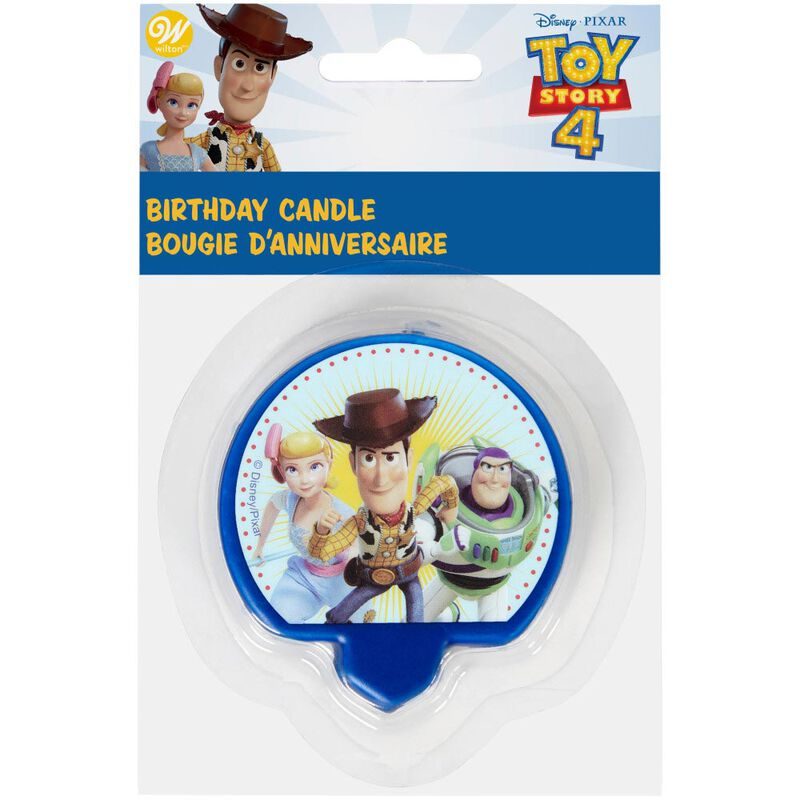 Disney Pixar Toy Story 4 Birthday Candle image number 1