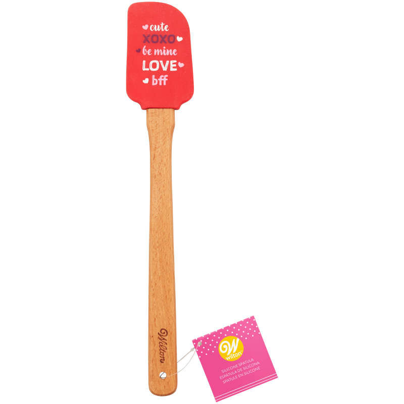 Say it With Words Valentine's Day Silicone Spatula image number 3