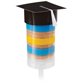 Treat Pop Toppers Graduation Caps